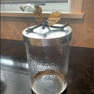 Michael Aram medium butterfly ginkgo canister